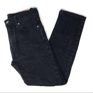 Levi's 502 Black Skinny Jeans